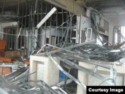Hotel Pullman en Cayo Coco, afectado por Irma.