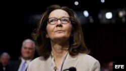 Gina Haspel, testifica ante el Comité de Inteligencia del Senado en Washington D.C.