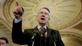 El líder de la mayoría demócrata del Senado de  EE. UU., Harry Reid
