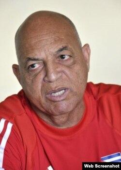 Antonio Garcés, vicepresidente de la Asociación de Fútbol de Cuba.
