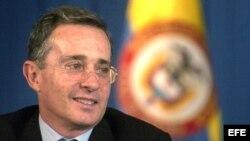 El ex presidente de Colombia (2002-2010), Álvaro Uribe