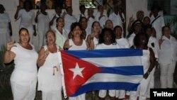Damas de Blanco rememoran Primavera Negra en Cuba