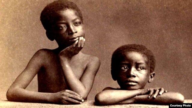 Hijos de esclavos, siglo XIX.