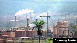 Fábrica de níquel Ernesto Guevara, Cuba
