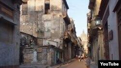 Reporta Cuba Una callle de La Habana