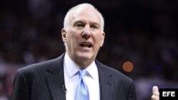 Gregg Popovich será el entrenador de EEUU a partir de 2017.