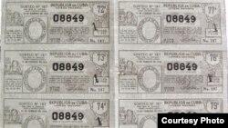 Lotería Nacional de Cuba.