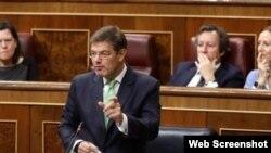 Ministro de Justicia español, Rafael Catalá, viajará la próxima semana a Cuba.