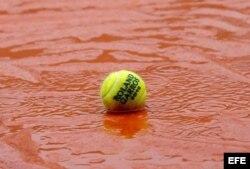 Roland Garros, lluvia.