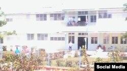 Escuela Primaria Antonio Guiteras Holmes (San Juan y Martínez). Foto Serafín Moran