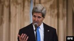 El secretario de Estado de EE.UU, John Kerry.