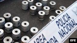 Archivo - La Policía ecuatoriana decomisó 203,1 kilogramos de cocaína que tenían como destino México.