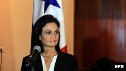 La canciller y vicepresidenta panameña, Isabel De Saint Malo.