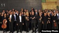 Parte de la Orquesta de Minnesota.