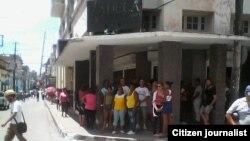 Reporta Cuba. Opositores en Santa Clara. Foto: Anténez Facebook.