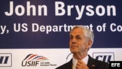 John Bryson secretario de comercio