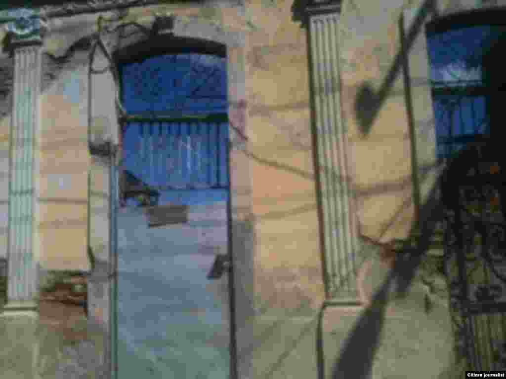 Reporta Cuba Calle Santa Rita entre Padre Pico y Corona Foto LisandraUnpacu.