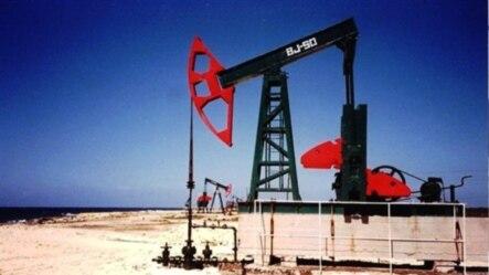Pozo en Bacuranao, en el litoral norte, entre La Habana y Varadero, donde están las mayores reservas cubanas explotables de petróleo.