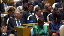 El levantamiento del embargo a Cuba acapara protagonismo en la ONU