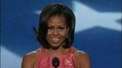 Michelle Obama realiza discurso en convención demócrata