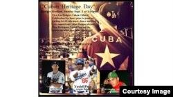 Anuncio de bienvenida a la nueva adquisición de los Dodgers, el torpedero cubano Alexander Guerrero.
