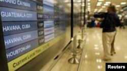 Lista de vuelos del aeropuerto Internacional de Miami