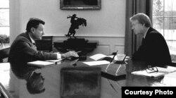 Brzezinski y Carter en la Casa Blanca