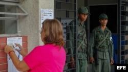 Elecciones en Venezuela. (Archivo)