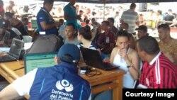 Anuncian deportación tras el censo a cubanos en Turbo