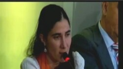 Yoani Sánchez presenta informe a la SIP