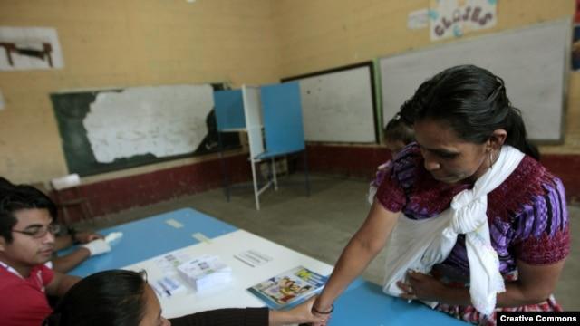 ELECCIONES PRESIDENCIALES GUATEMALA