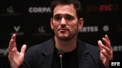 El actor, director y guionista estadounidense Matt Dillon en Santiago Festival Internacional de Cine (SANFIC13).