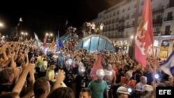 Marcha en Madrid.