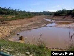 La sequía en Santiago de Cuba amenaza con la inminente paralización del suministro desde algunos embalses