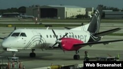 Avión de Silver Airways.