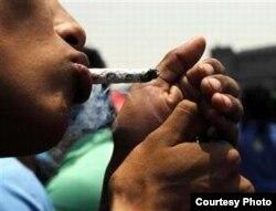 """El """"pito"""" de marihuana criolla cuesta en La Habana entre 2 y 3 CUC."""