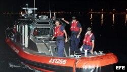 Miembros de la guardia costera de EEUU. Archivo.