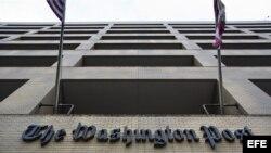 """Fachada del edificio del """"The Washington Post"""". Archivo."""