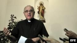 El secretario de la Conferencia de Obispos Católicos de Cuba, monseñor José Félix Pérez