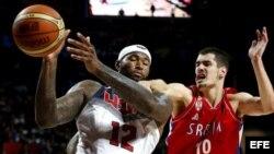 USA se impone a Serbia en el Mundial de baloncesto 2014