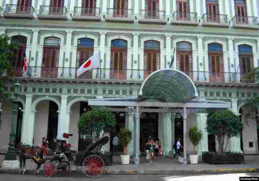 Hotel Saratoga, Habana, Cuba.