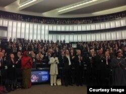 Cubanos premiados con el Sajarov en ceremonia de entrega del premo 2013 a Malala