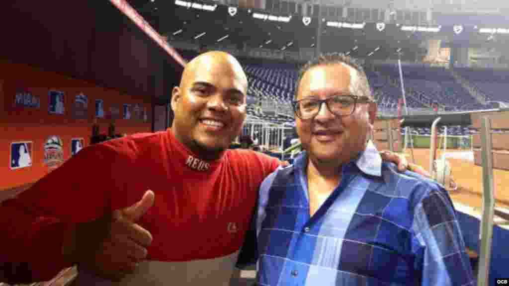 Brayan Peña y Edemio Navas