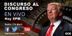 Cobertura Especial: Discurso de Trump ante el Congreso de EEUU.
