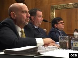 Audiencia sobre ataques a diplomáticos de EEUU en Cuba