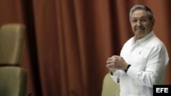 Raúl Castroen el primer pleno ordinario del año de la Asamblea Nacional del Poder Popular (parlamento unicameral) de Cuba,
