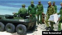 Tropas guardafronteras incautan paquetes de droga en costas cubanas. (Archivo)