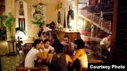La paladar Madrigal en La Habana