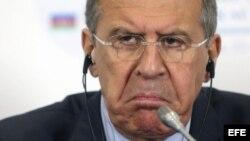 El ministro ruso de Exteriores, Sergei Lavrov.