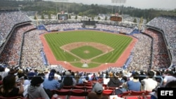 Estadio de los Dodger en de Los Angeles